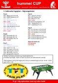 Download turneringsprogrammet(version 6) her - FC Horsens - Page 6