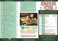 OGSÅ MAD UD AF HUSET - Kongevejens Pizzeria