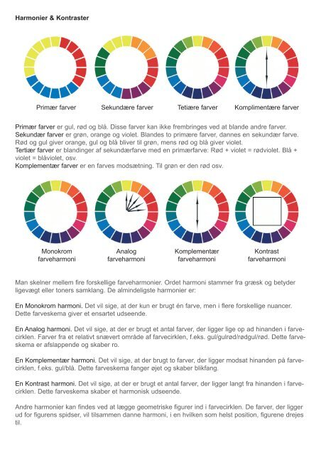 harmoniske farver