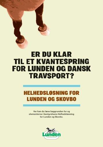 HELHEDSLØSNING FOR LUNDEN OG SKOVBO - TravService.dk