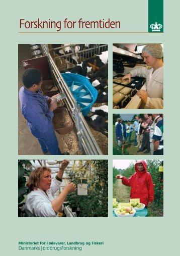 Forskning for fremtiden - DCA - Nationalt Center for Fødevarer og ...