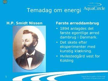 Temadag om energi - AquaCircle