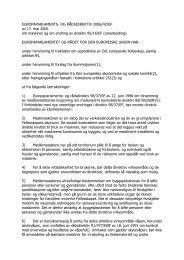 Maskindirektivet 2006/42/EF