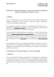 Rigsadvokatmeddelelse RM 3/2012 - Anklagemyndigheden