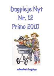 Nr. 12 Primo 2010 (Åbner i et nyt vindue) - Vallensbæk Kommune