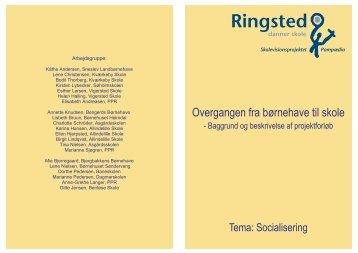 Baggrundsrapport - overgangen fra børnehave til ... - Søholmskolen