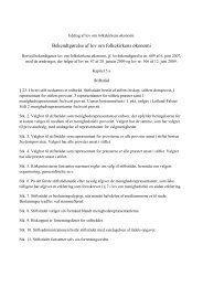Bekendtgørelse af lov om folkekirkens økonomi - Ribe Stift