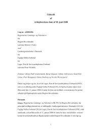 Udskrift af Arbejdsrettens dom af 18. juni 2008
