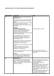 Spørgsmål og svar d. 6.9 på udbud på forsikringsydelser - Fredericia ...