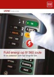 Fuld energi op til 360 joule - Physio-Control