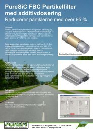 Datablad - Purefi A/S
