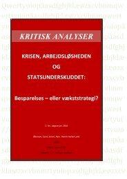 Besparelses - eller vækststrategi? - Henrik Herløv Lund