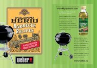 Weber Barbecue Recipe Booklet WEB - Citalia