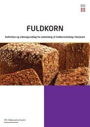 definition og vidensgrundlag - Fuldkorn.dk