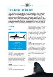 Fisk, krebs- og bløddyr (pdf – 2Mb) - Fiskericirklen