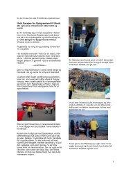Unik sørejse fra Sydgrønland til Nuuk af Jette Christoffersen