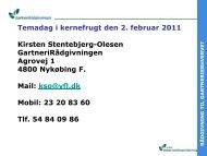 Se præsentationen her - GartneriRådgivningen