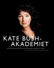 KATE BUSHT AKADEMIET - Jenny Hval