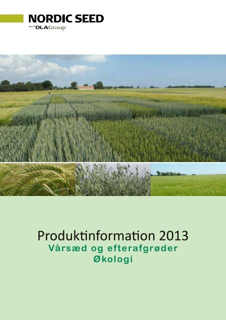 Produktinformation 2013 - NSCORN