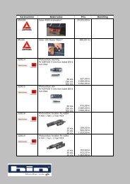 Varenummer Beskrivelse Pris Bestilling AM4000 Solar-4000 ...