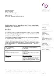 loruddannelse i matematik Revideret - Danmarks ...