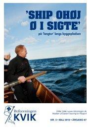 'SHIP OHØJ Ø I SIGTE' - Mikkel Sander
