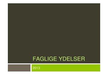 Slides fra fyraftensmøde november 2012 - Sundhed.dk