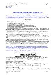 Bilag 3: Oplæg om afholdelse af et menighedsmøde - Grøndalslund ...