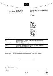 5828/05 mh DG I RÅDET FOR DEN EUROPÆISKE UNION ... - Europa