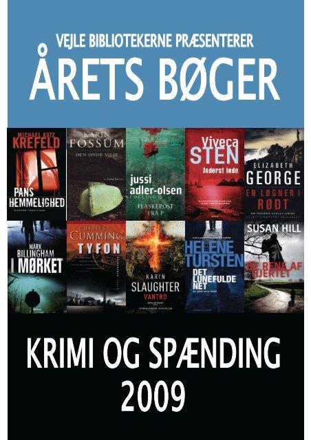 Årets bøger 2009 - krimi og spænding - Vejle Bibliotekerne