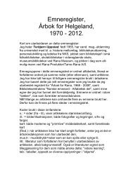 Klikk her.... - Helgeland Historielag