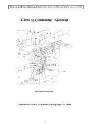 Gårde og ejendomme i Kjelstrup.indd - Thisted Museum