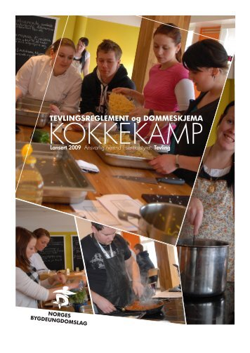 KOKKEKAMP - Norges Bygdeungdomslag