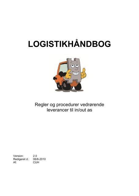 LOGISTIKHÅNDBOG - Indeks Retail A/S