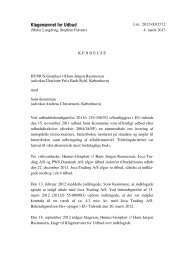 HUMUS-Genplast v/ Hans Jørgen Rasmussen mod - Nohr-Con