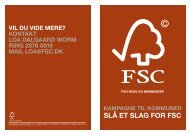 SLå ET SLAG for fSC