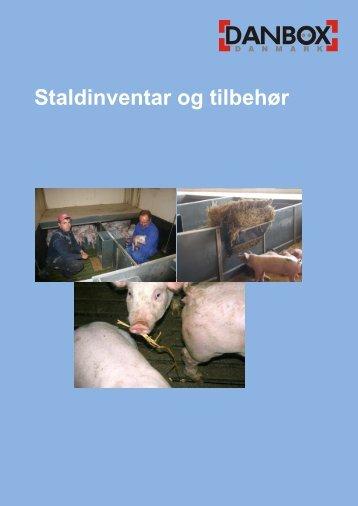 Staldinventar prisliste - Danbox Danmark Aps