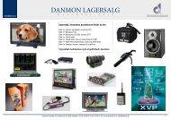 DANMON LAGERSALG
