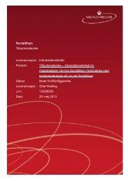 Tilbudsmateriale - Introduktionsforløb for tilsynsmedarbejdere ver. 3