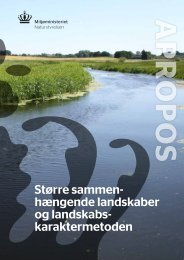 Større sammenhængende landskaber og ... - Naturstyrelsen