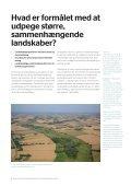 Større sammenhængende landskaber og ... - Naturstyrelsen - Page 4