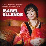 ISABEL ALLENDE - Hans Christian Andersen Literature Award