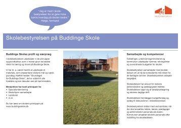 Skolebestyrelsen på Buddinge Skole