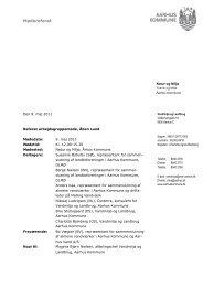 Referat 9. maj 2011 (pdf 136 KB) - Aarhus.dk