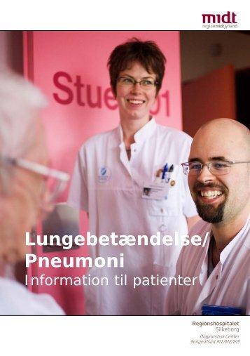 Lungebetændelse/ Pneumoni - Hospitalsenhed Midt