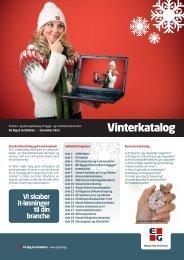 Se EGs Vinterkatalog 2011 - Dansk Byggeri