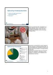 Opbevaring af bekæmpelsesmidler Opbevaring af ... - LandbrugsInfo