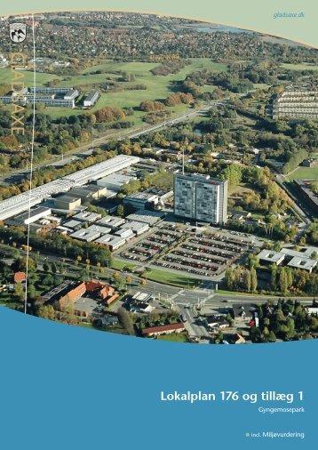 Lokalplan 176 og tillæg 1 - Gladsaxe Kommune