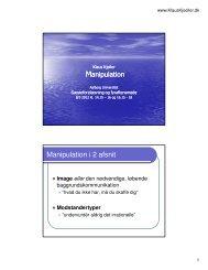 Oplæg fra netværksmødet (pdf) - Netværk om Sprog og International ...