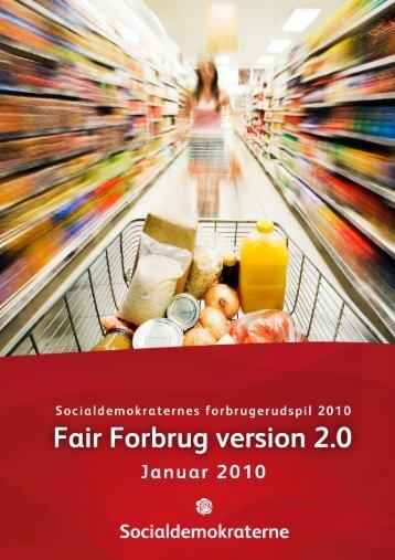 Fair Forbrug - Socialdemokraterne